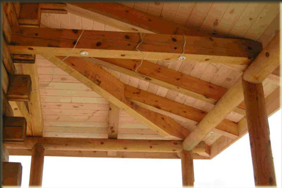 Heavey Timber Porch System