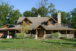 Country Creek Log Home Model