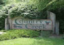 Country Creek Subdivision Sign