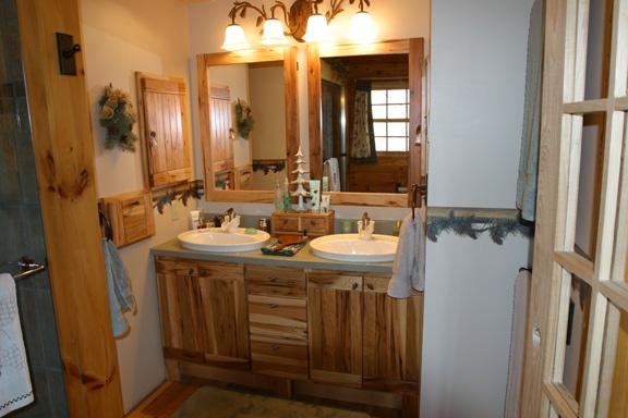 Bathroom with vanity - Master Bathroom